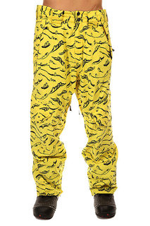 Штаны сноубордические Santa Cruz Drillbit Rob Yellow