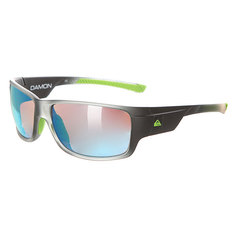 Очки Quiksilver Damon Dark Grey/Lime