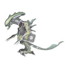 Фигурка Aero-Yo Подарок Alien Grey