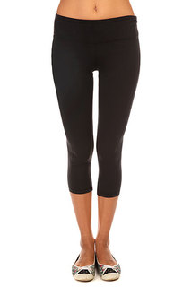 Леггинсы женские Roxy Breathless Capr J Pant True Black