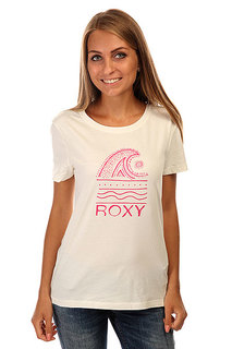 Футболка женская Roxy Itty Doty Wave J Tees Sea Spray