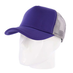 Бейсболка с сеткой TrueSpin Combo Trucker Purple/Dark Grey