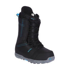 Ботинки для сноуборда Burton Invader Black/Cyan