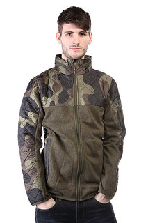 Куртка Burton Mb Pierce Fleece Olive Night Heather