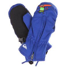 Варежки сноубордические детские Quiksilver Indie Mitten Olympian Blue