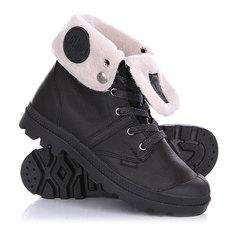 Ботинки зимние женские Palladium Pallabrouse Bgy Wps Black