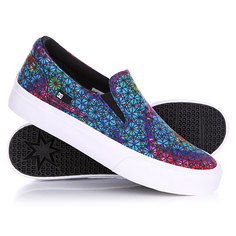Слипоны женские DC Trase Slip-On SP Primary Tie Dye