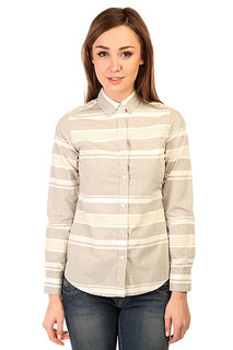 Блузка женская Burton Grace Ls Wvn Texture Stripe