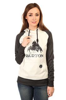 Толстовка сноубордическая женская Burton Wb Heron Pullover Vanilla Heather
