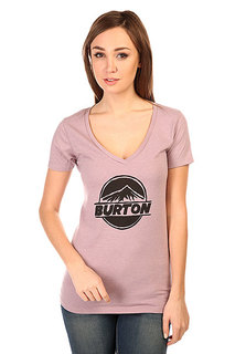 Футболка женская Burton Peaked Rec V Heather Thistle