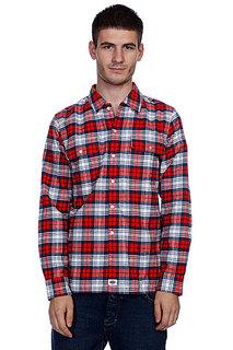Рубашка в клетку Dickies Flannel Stc/Fred/Navy