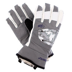 Перчатки сноубордические женские Pow Ws Feva Glove Gtx Grey