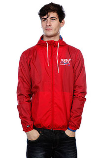 Ветровка K1X Track Logo Windbreaker Red/White