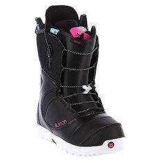 Ботинки для сноуборда женские Burton Mint Black/White/Pink