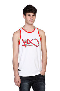 Майка K1X Bootleg Tank Top White/Red