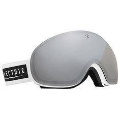 Маска для сноуборда Electric EG3 Gloss White Bronze/Silver Chrome