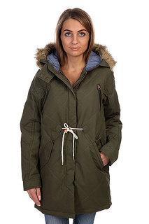 Куртка парка женская Burton Wb Barge Jkt Olive Night