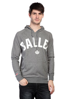 Кенгуру K1X Core Baller Performance Hoody Dark Grey Heather/White