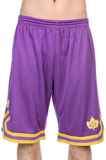 Шорты K1X Leaf Double-x Shorts Purple/Yellow