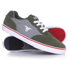 Кеды кроссовки низкие Fallen Slash Surplus Green/Cement Grey