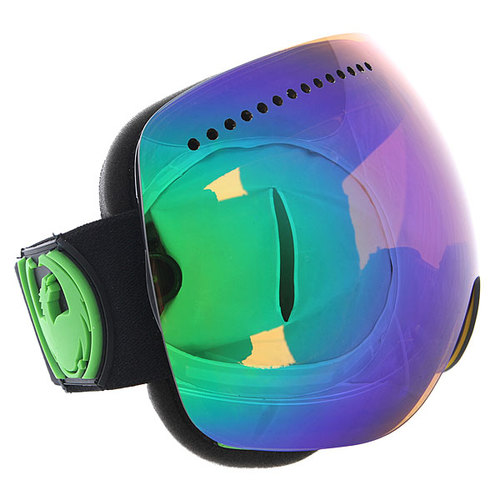Маска для сноуборда Dragon Apx Jet/Green Ion + Yellow/Blueeion