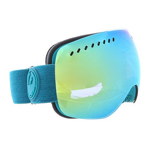 Маска для сноуборда Dragon Apxs Aquaheathr/Smokgld + YellBlue One