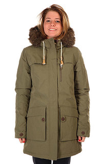 Куртка зимняя женская Roxy Louise Dusty Olive