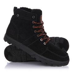 Ботинки зимние DC Woodland Black/Orange