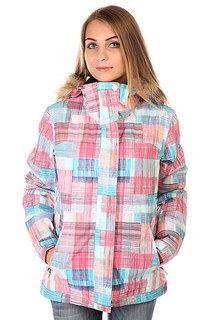 Куртка женская Roxy Jet Ski Jk J Snjt Plaid Lines