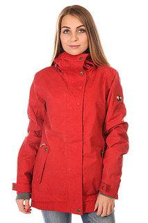 Куртка женская Roxy Juno Jk J Snjt Pompeian Red BIOTHERM
