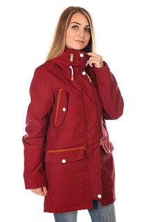 Куртка парка женская Colour Wear Range Parka Burgundy Clwr