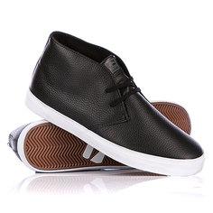 Кеды кроссовки высокие Globe Nullarbor Black/White