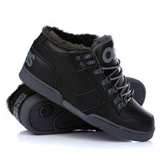Зимние кеды Osiris Nyc 83 Mid Shr Black/Charcoal/Charcoal
