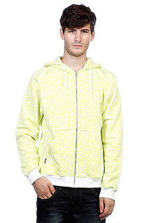 Толстовка Globe Stipples Zip Hood White
