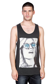 Майка Globe Good Vibrations Singlet Vint Black