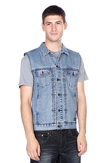 Жилет Globe Goodstock Denim Vest Stone Wash