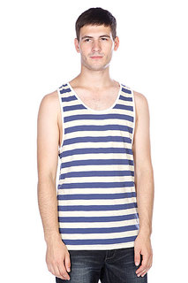 Майка Globe Moonshine Singlet Navy/Pale/Yellow