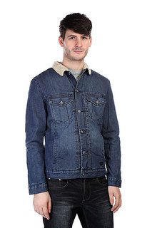 Куртка джинсовая Globe Goodstock Sherpa Jacket Blue