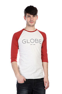 Лонгслив Globe Phase Raglan Grey Marle