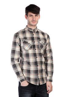 Рубашка в клетку Globe Corsair Shirt Black