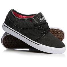 Кеды кроссовки низкие Globe Mahalo Black Wash