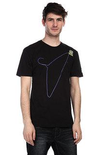 Футболка Globe Globe X-Ray Tee Glow Black/Hanger