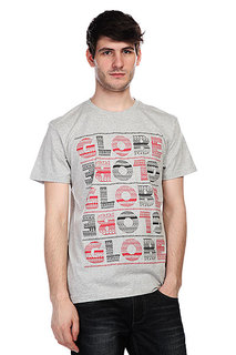 Футболка Globe Patterns Tee Athletic Grey