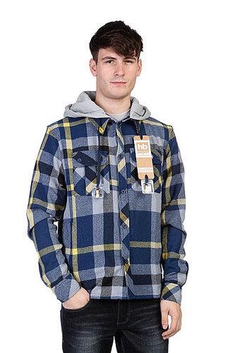 Рубашка с наушниками Hoodiebuddie Woodsman Navy