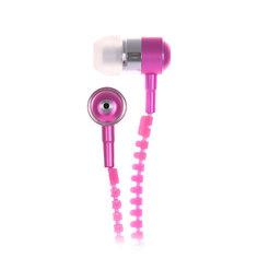 Наушники с микрофоном Look Desire Pink/White