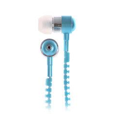 Наушники с микрофоном Look Desire White/Blue