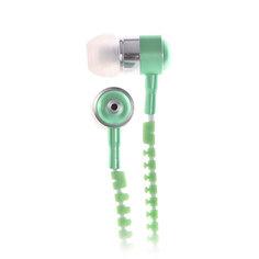 Наушники с микрофоном Look Desire White/Green