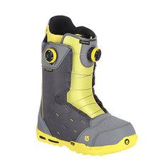 Ботинки для сноуборда Burton Concord Boa Gray/Yellow