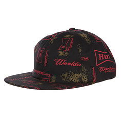 Бейсболка Huf Drink Up 6 Panel Black
