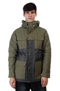 Куртка Quiksilver Longbay Wool Dusty Olive